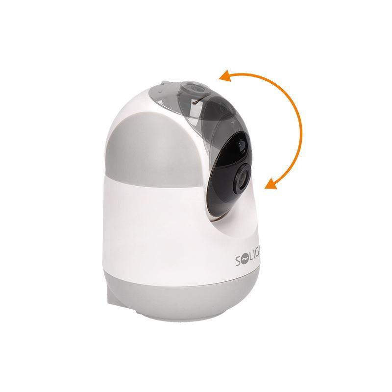 Solight otočná IP kamera