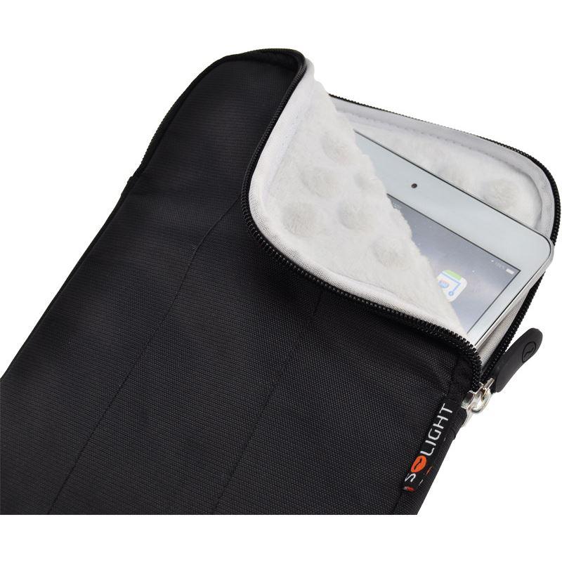 Solight nylonové pouzdro na tablet, e-čtečku do 7'', nárazuvzdorné polstrování, černé