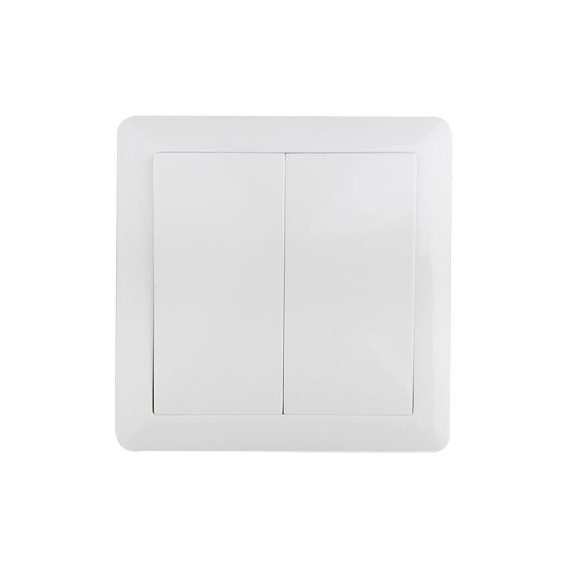 Solight vypínač Slim č. 5 sériový - lustrový, bílý