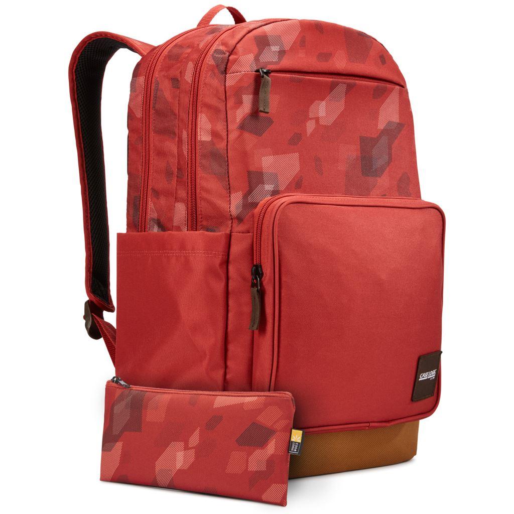 Case Logic Query batoh 29L CCAM4116 cihlově červený se vzorem/kmínově hnědý