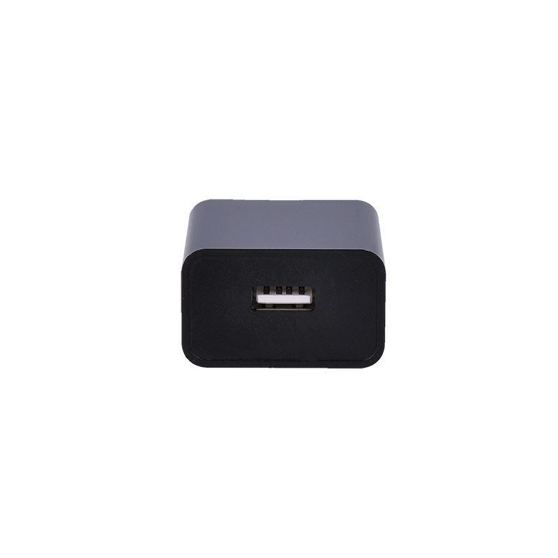 Solight USB nabíjecí adaptér, 1x USB, 2400mA, AC 230V, černý