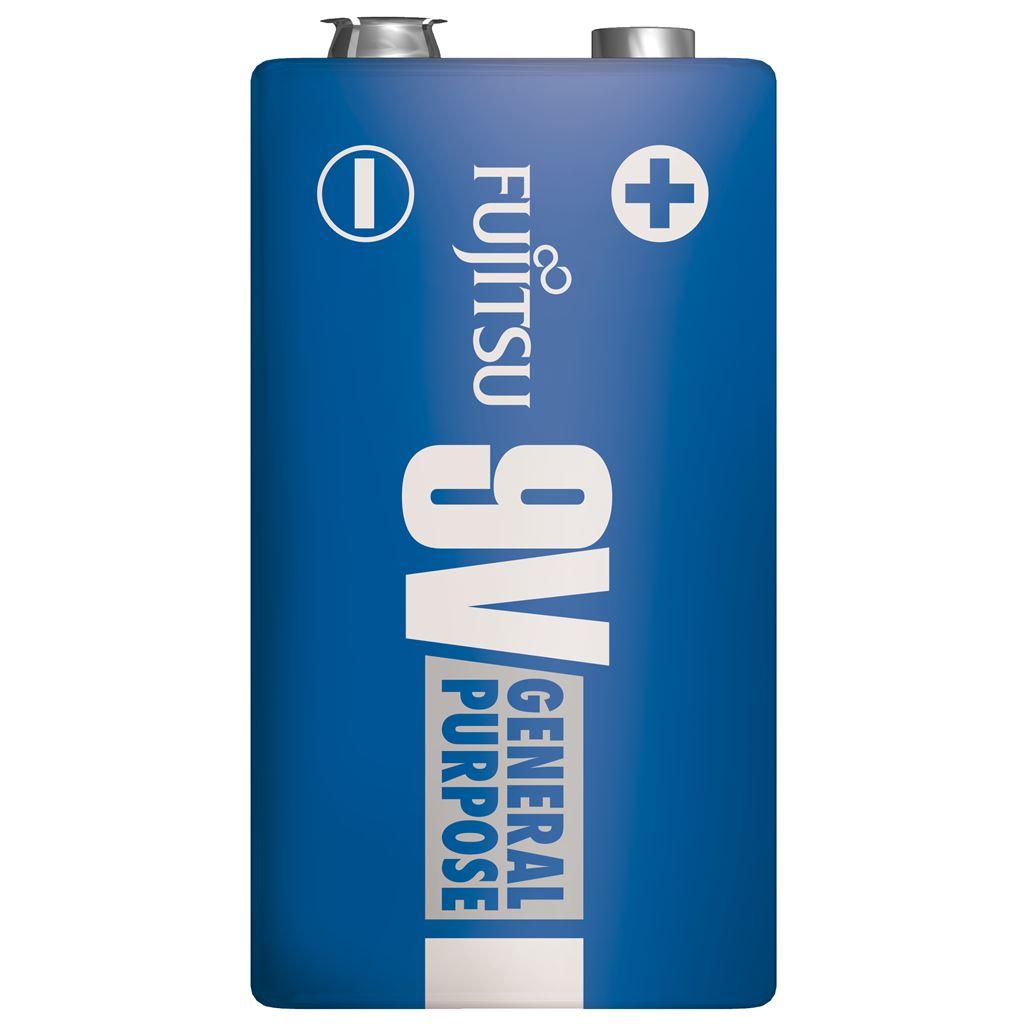 Fujitsu zinková baterie 9V, shrink 1ks