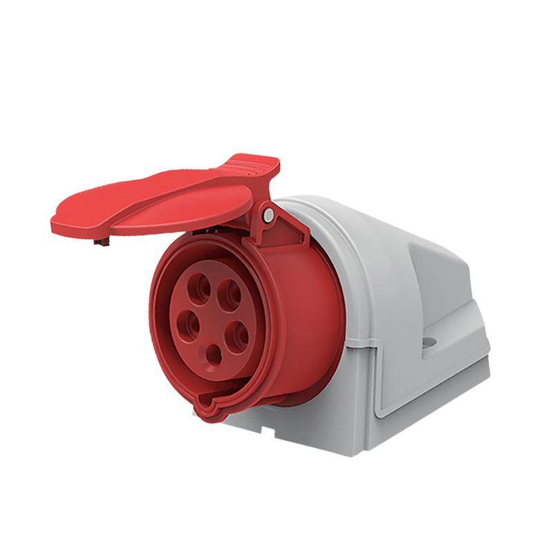 Solight zásuvka nástěnná, 5-pólová, 400v/16A, IP44