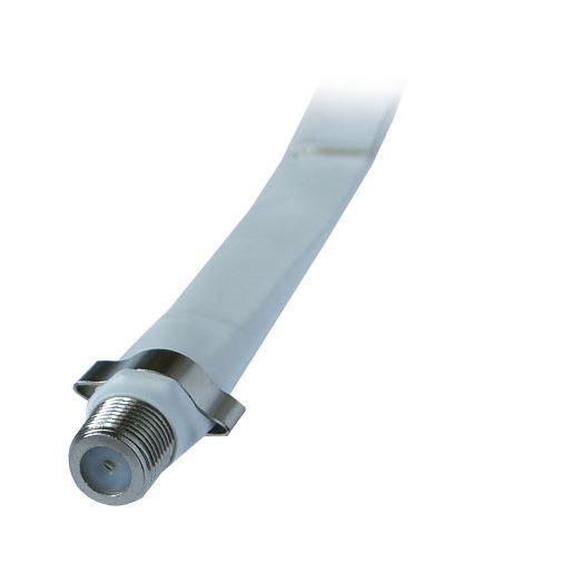 Solight podokenní kabel F zdířka - F zdířka, sáček