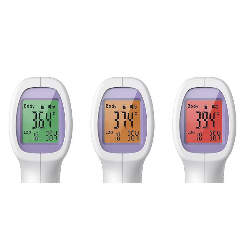 Solight vysoce přesný bezkontaktní teploměr pro měření tělesné teploty