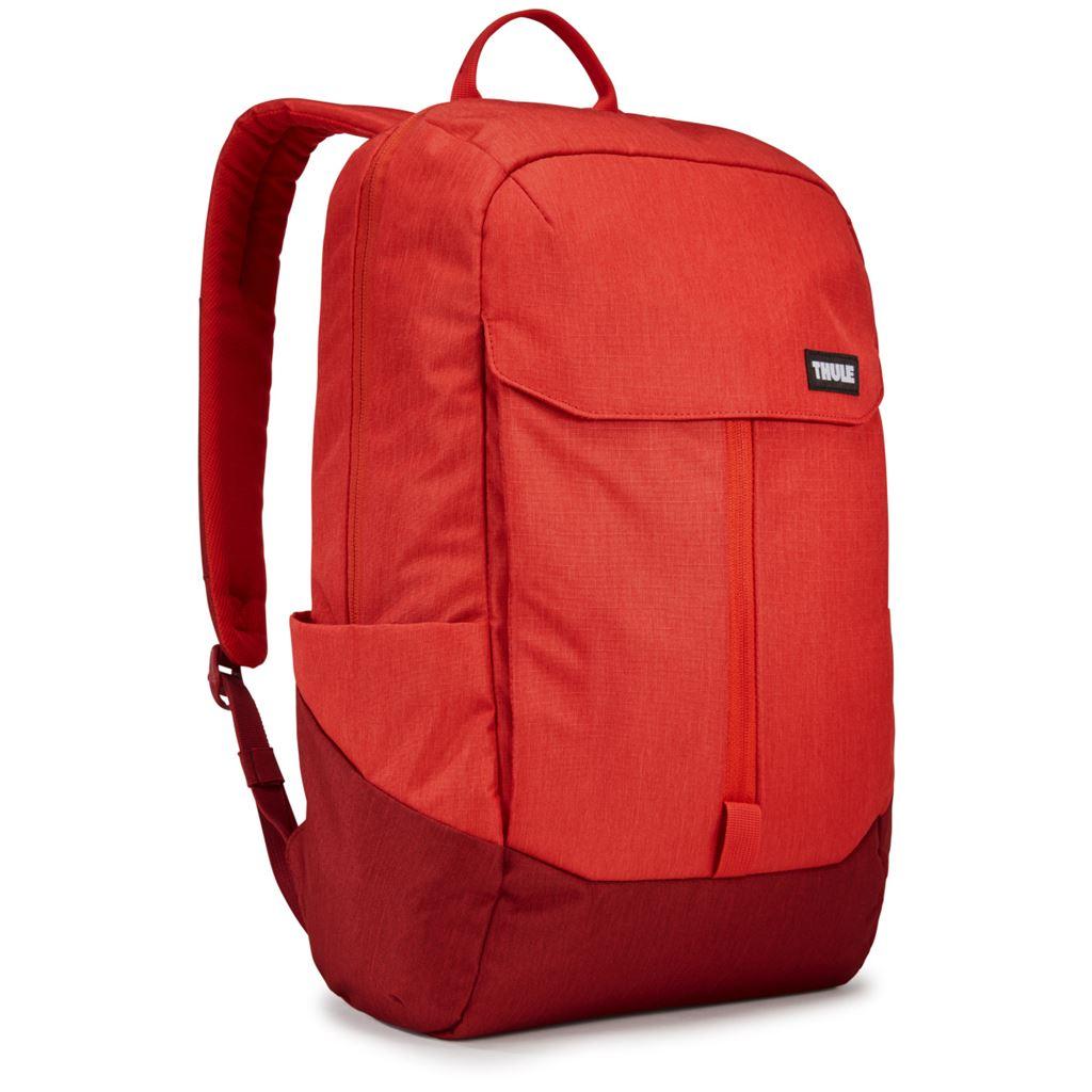 Thule Lithos batoh 20L TLBP116LRF - červený/tmavě červený