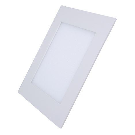 Solight LED mini panel, podhledový, 6W, 400lm, 4000K, tenký, čtvercový, bílý