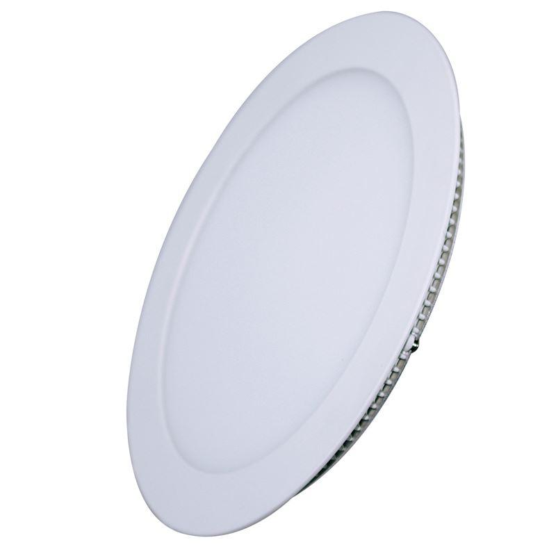Solight LED mini panel, podhledový, 12W, 900lm, 3000K, tenký, kulatý, bílý
