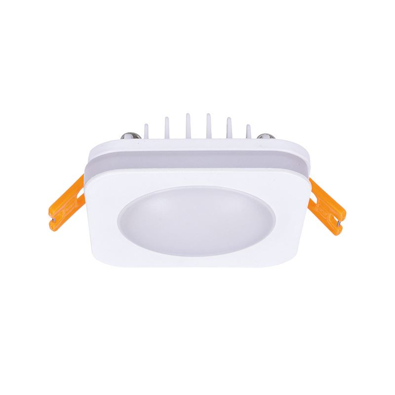 Solight LED podhledové svítidlo, 6W, 420lm, 4000K, IP44, čtvercové