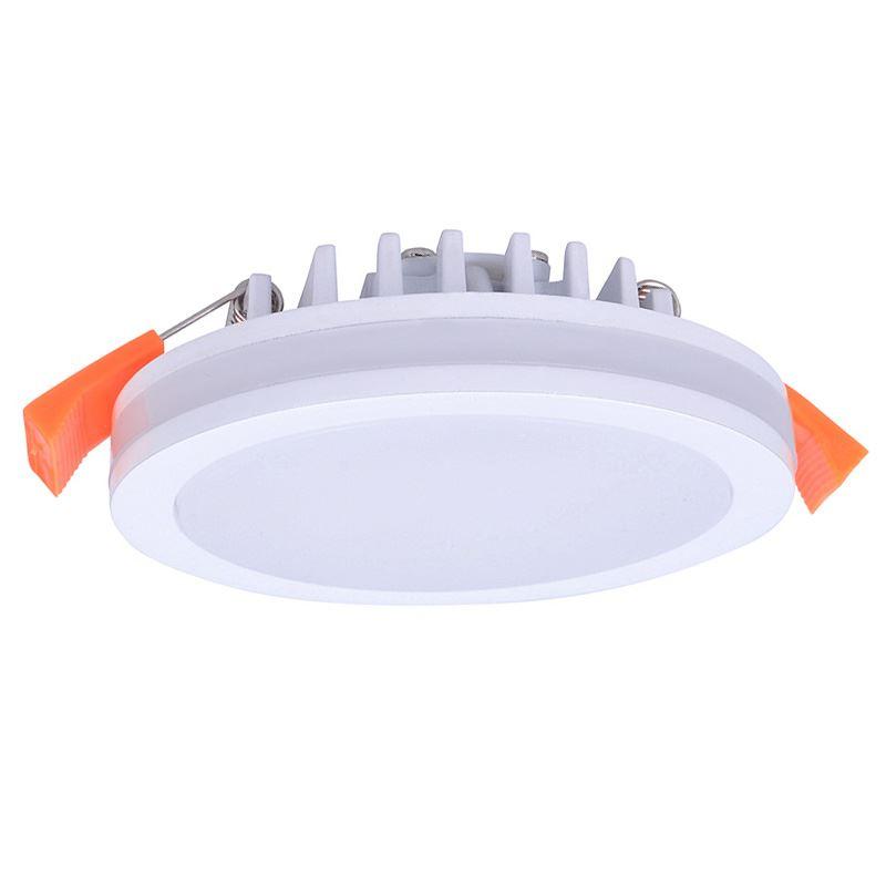 Solight LED podhledové svítidlo, 10W, 800lm, 4000K, IP44, kulaté