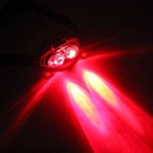 Solight čelová LED svítilna, 1W + 3x LED, černá, 3 x AAA