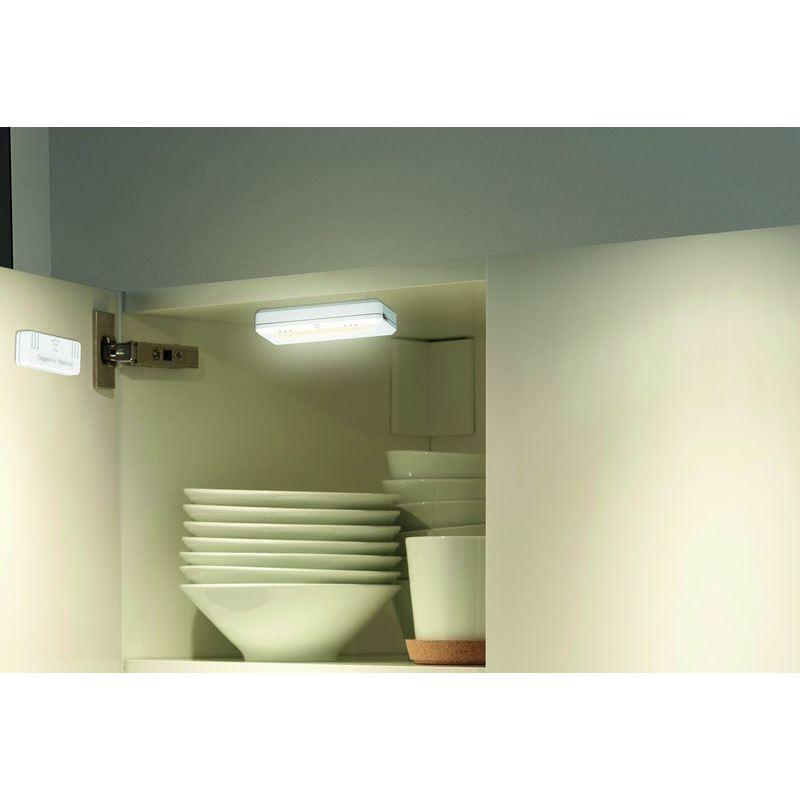 Solight LED světélka do skříní, komod a zásuvek, 40lm , 2x AAA, 2ks v balení