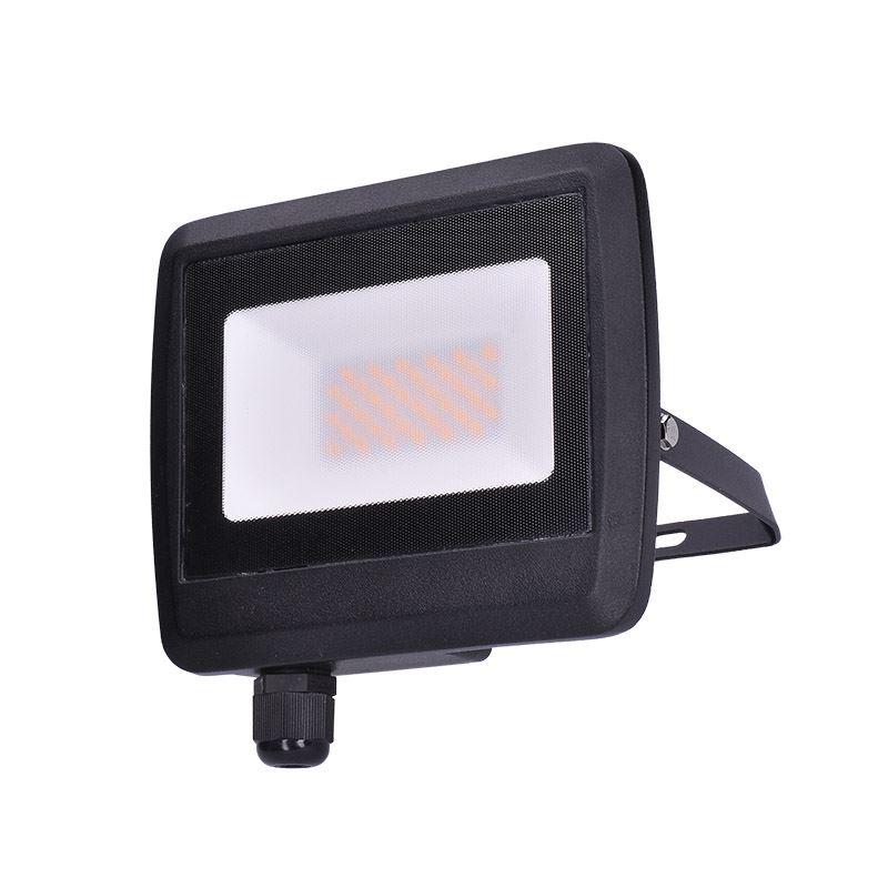 Solight LED reflektor Easy, 30W, 2400lm, 4000K, IP65, černý