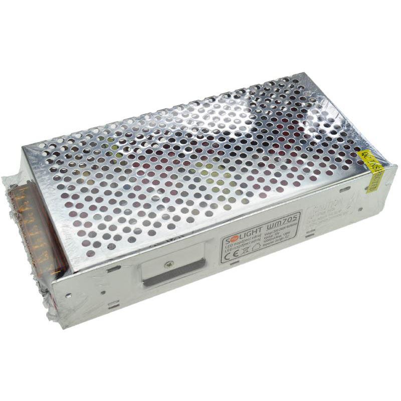 Solight LED napájecí zdroj, 230V - 12V, 10A, 120W, IP20
