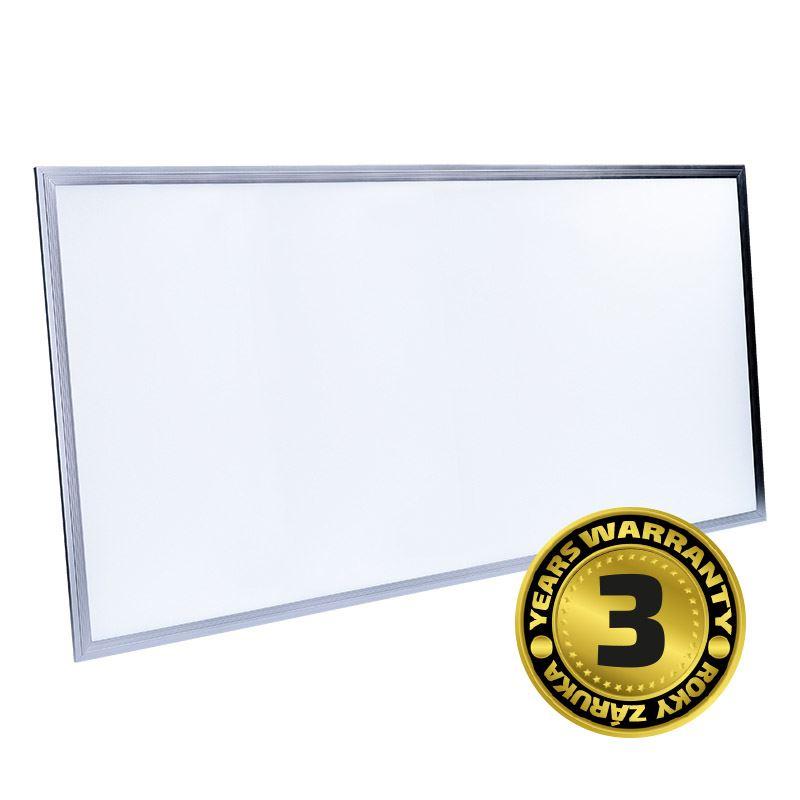 Solight LED světelný panel, 80W, 6400lm, 4100K, Lifud, 60x120cm, 3 roky záruka