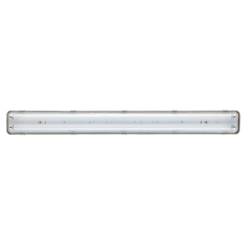 Solight stropní osvětlení prachotěsné, G13, pro 2x 120cm LED trubice, IP65, 127cm