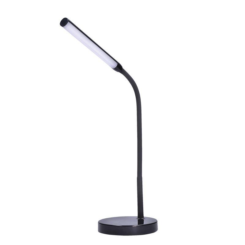 Solight LED stolní lampička, 4W, stmívatelná, 4200K, černá barva