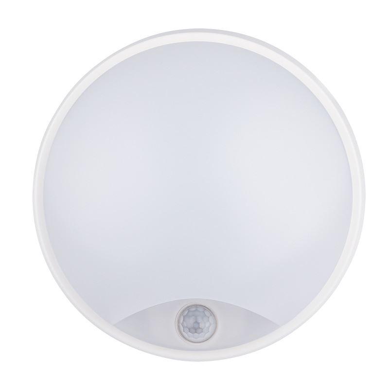 Solight LED venkovní osvětlení s pohybovým senzorem, IP54,14W, 1000lm, 4000K, 22cm