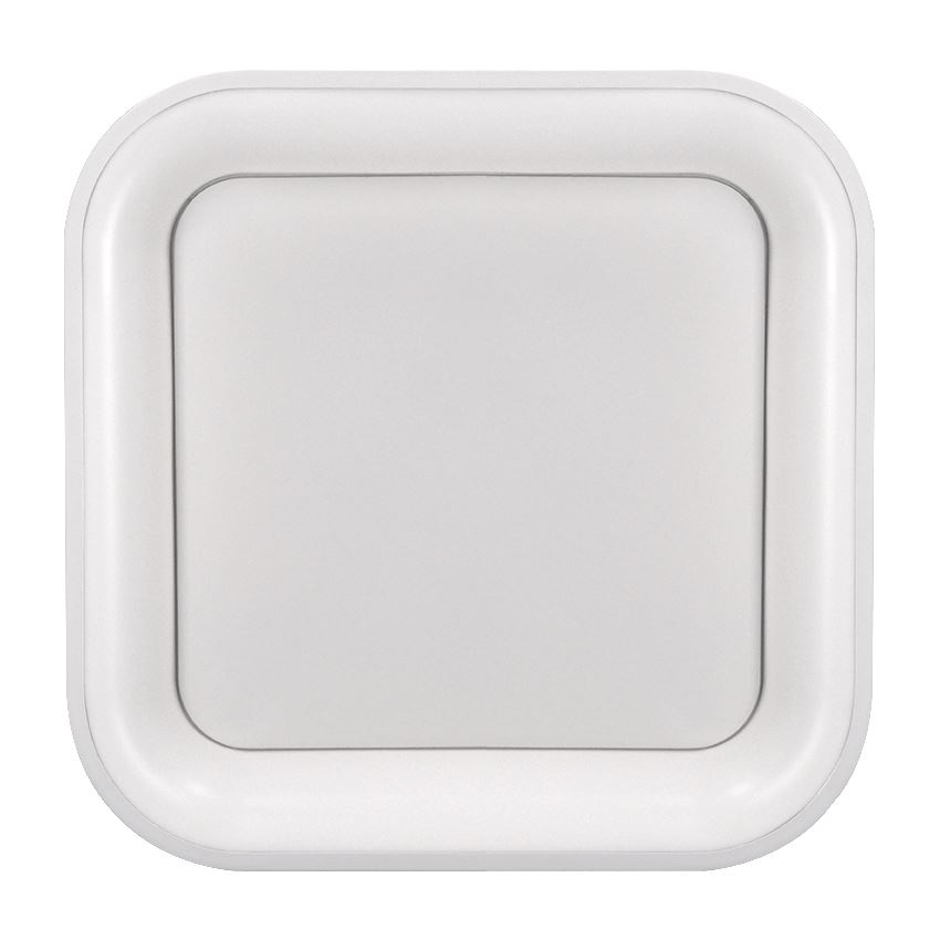 Solight LED stropní světlo čtvercové Treviso, 48W, 2880lm, stmívatelné, dálkové ovládání, bílá