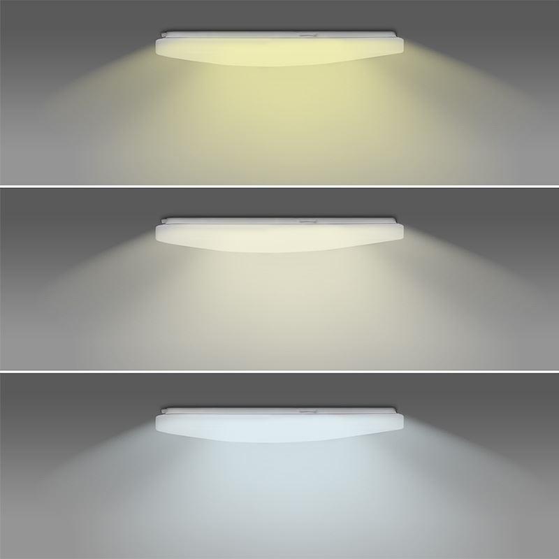 Solight LED SMART WIFI stropní světlo, 28W, 1960lm, 3000-6000K, čtvercové, 38cm
