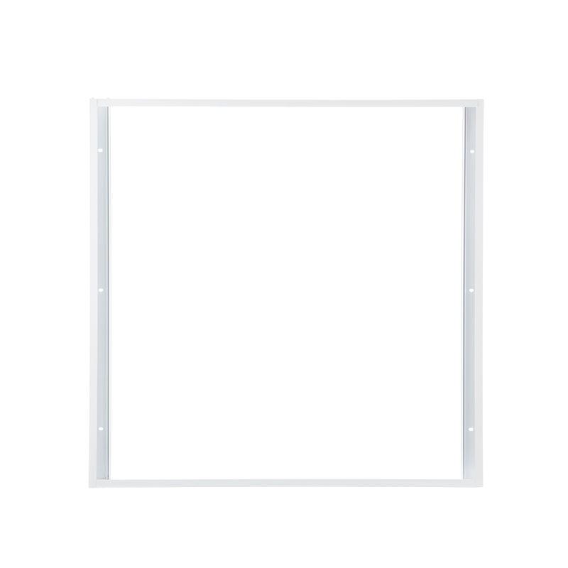 Solight hliníkový bílý rám pro instalace 595x595mm LED panelů na stropy a zdi, výška 68mm