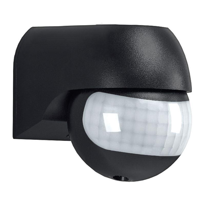 Solight PIR senzor nástěnný, venkovní, černý