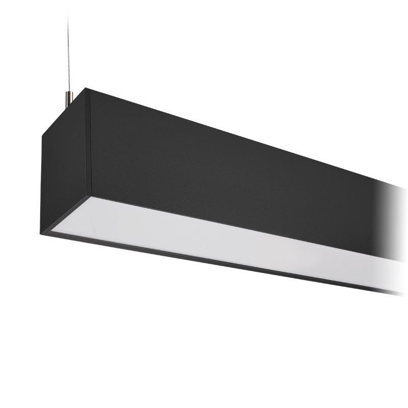 Solight LED lineární závěsné osvětlení, 36W, 3060lm, 118cm, Lifud, 3 roky záruka, černá barva