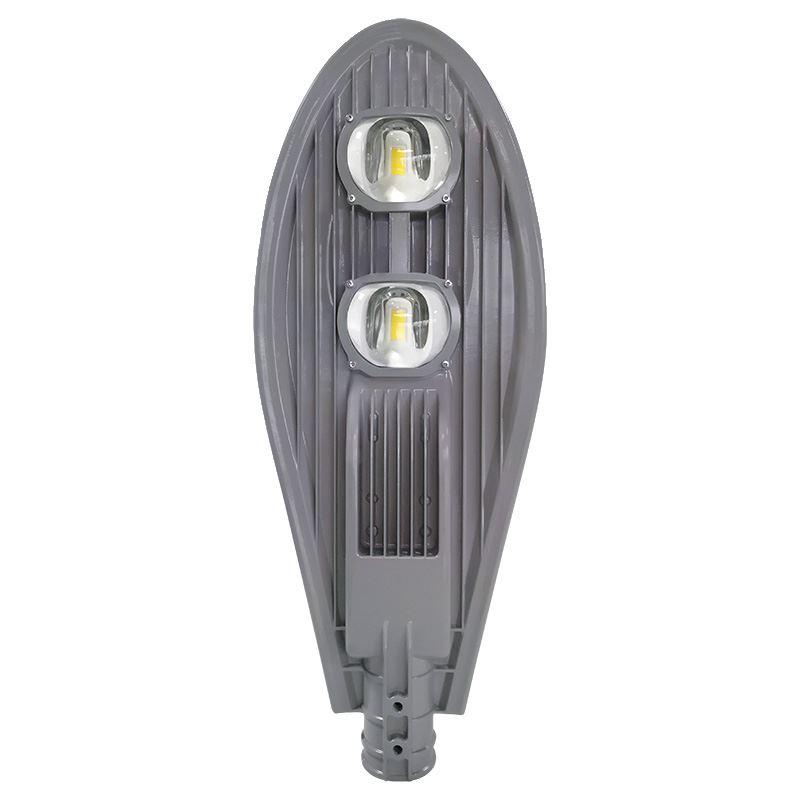 Solight street light COB, 100W, 13000lm, Meanwell, 4000K, 120°, Ra70, IP65, 180-305V, šedá