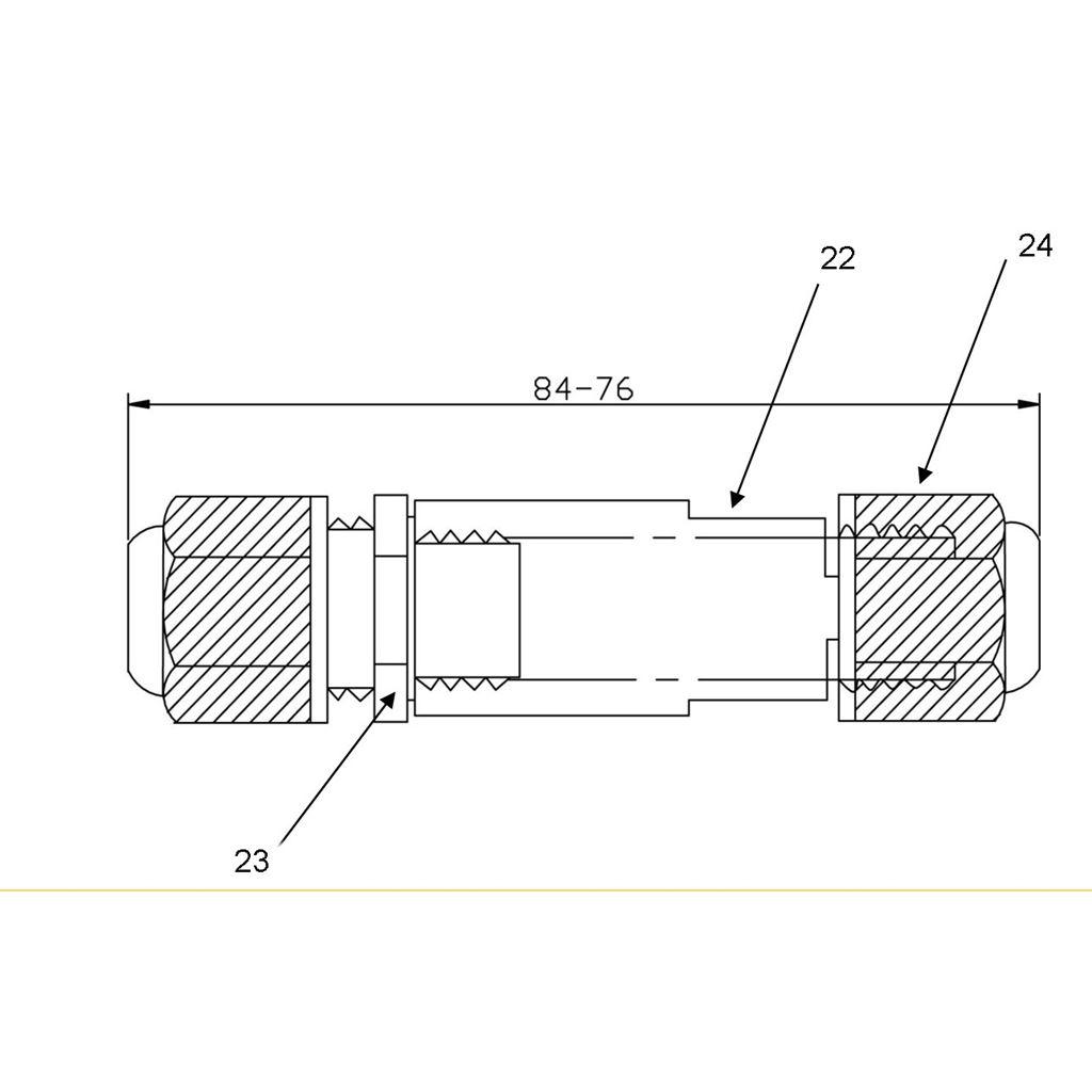 Solight kabelová vodotěsná spojka uni, IP68, 5-9/9-12mm, max 2,5mm2