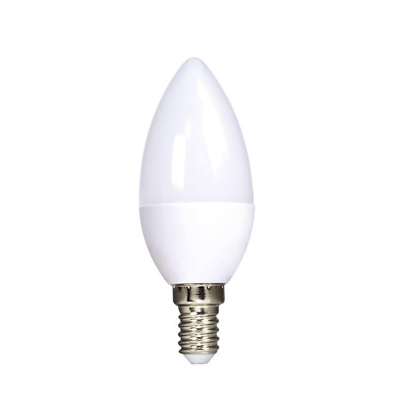 ECOLUX LED žárovka 3-pack, svíčka, 6W, E14, 3000K, 450lm, 3ks