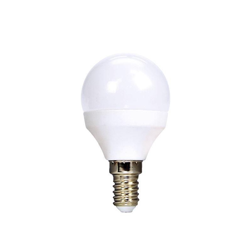 ECOLUX LED žárovka 3-pack , miniglobe, 6W, E14, 3000K, 450lm, 3ks