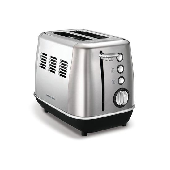 Morphy Richards topinkovač Evoke Brushed 2S