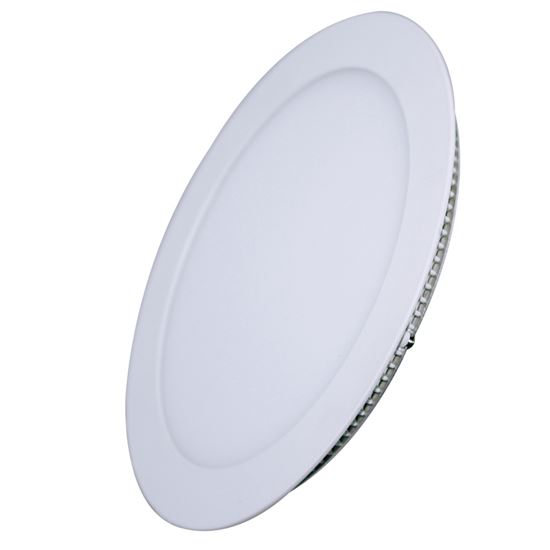 Solight LED mini panel, podhledový, 12W, 900lm, 3000K, tenký, kulatý, bílý