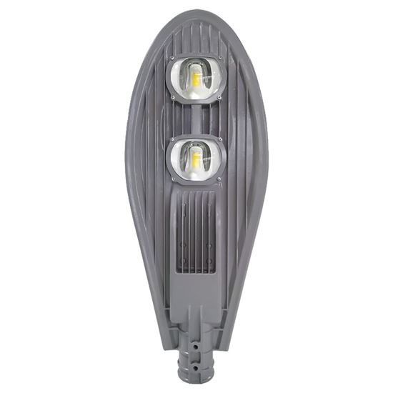 Solight street light COB, 100W, 13000lm, Meanwell, 4000K, 120°, Ra70, IP65, 180-305V, šedá