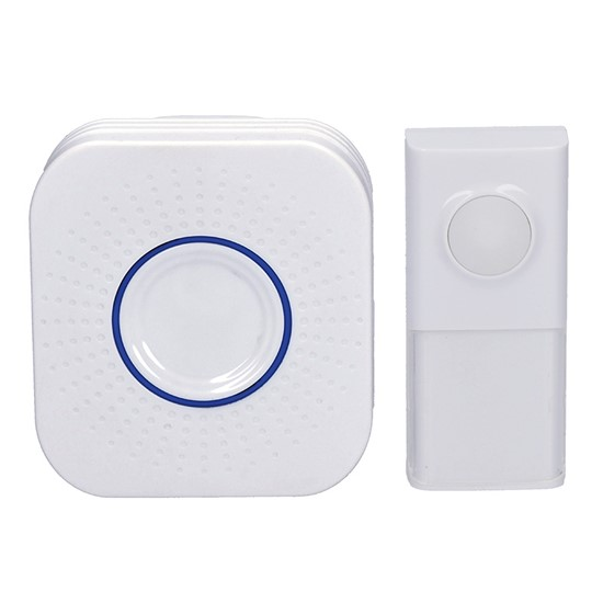 Solight Wireless doorbell, plug-in, 250m, learning code, white