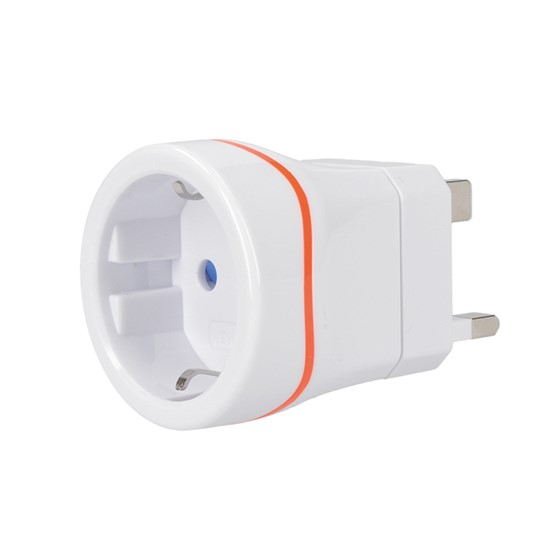 Solight Travel adapter EU to UK