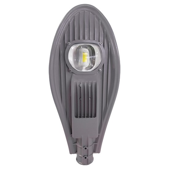 Solight street light COB, 60W, 7800lm, Meanwell, 4000K, 120°, Ra70, IP65, 180-305V, šedá